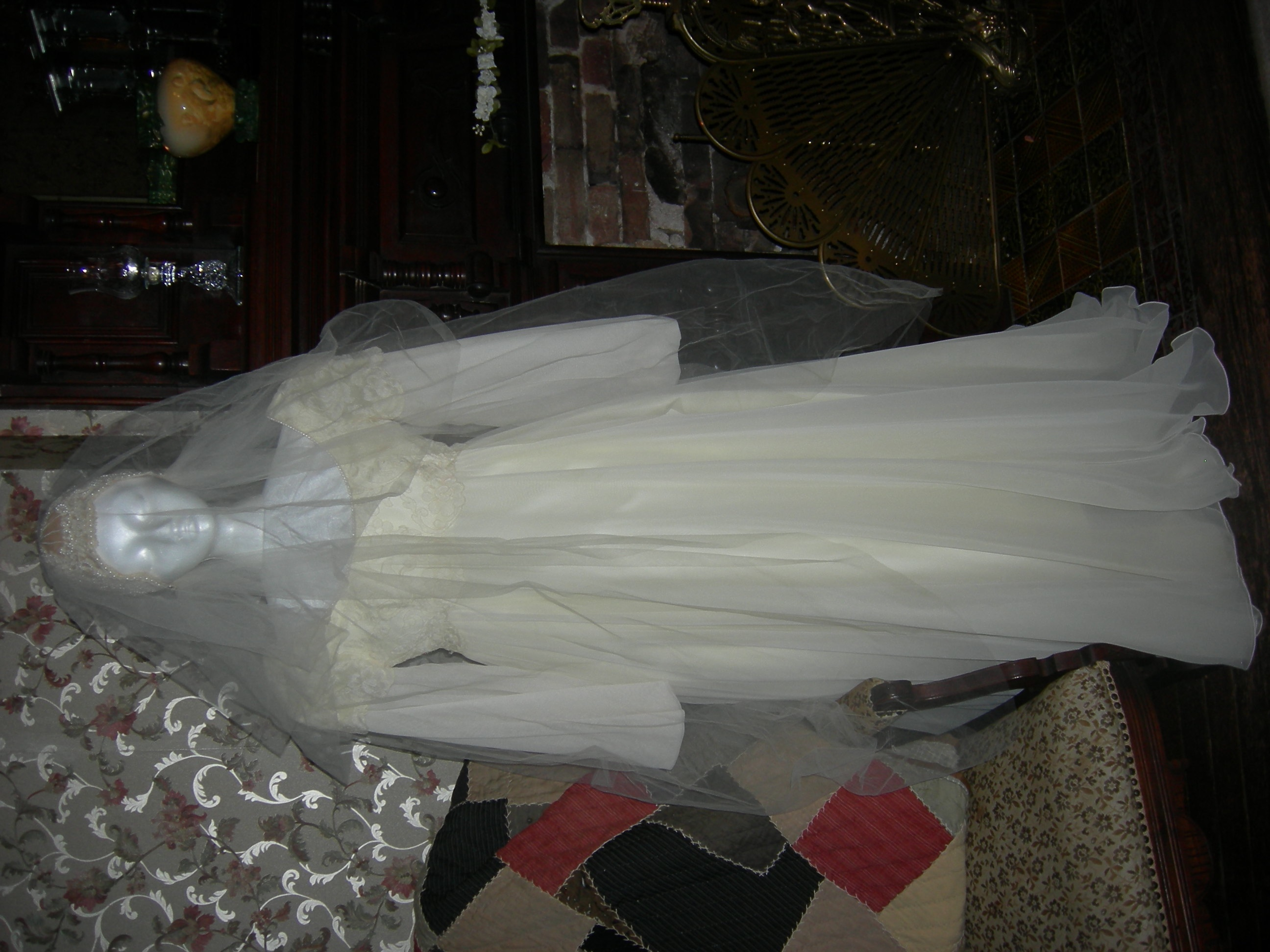 wedding dress 2 in parlor