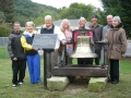Porter family with Plaque and Bell-op